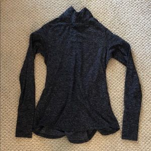 Lululemon Heathered Grey Thermal Pullover